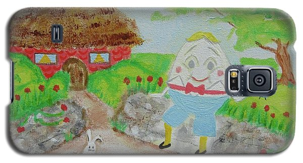 Humpty's House Galaxy S5 Case by Diane Pape