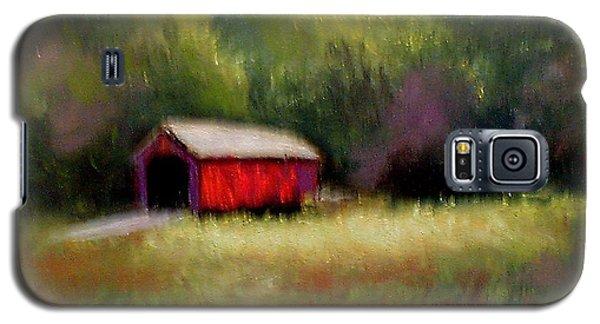 Galaxy S5 Case featuring the painting Hune Bridge by Gail Kirtz