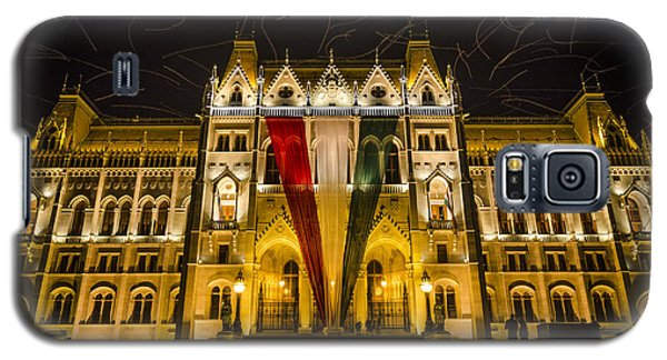 Hungarian Parliament At Night Galaxy S5 Case