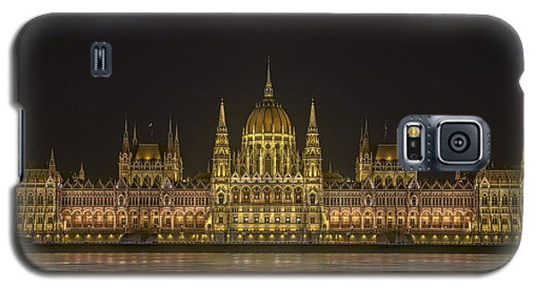 Hungarian Parliament Building Night Galaxy S5 Case