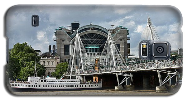 Hungerford Bridge And Charing Cross Galaxy S5 Case