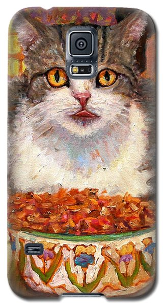 Hungry Cat Galaxy S5 Case