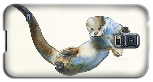 Otter Galaxy S5 Case - Hunter by Mark Adlington