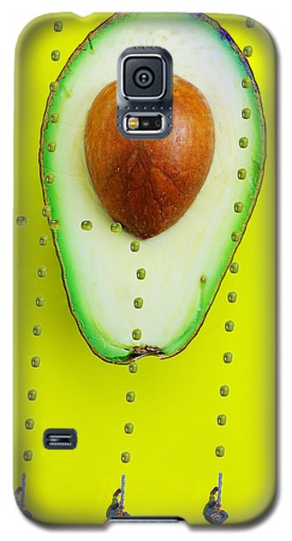 Galaxy S5 Case featuring the photograph Hunters Depicting Rutherford Atomic Model By Avocado Food Physics by Paul Ge