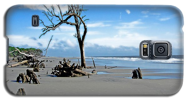 Galaxy S5 Case featuring the photograph Hunting Island - 1 by Ellen Tully