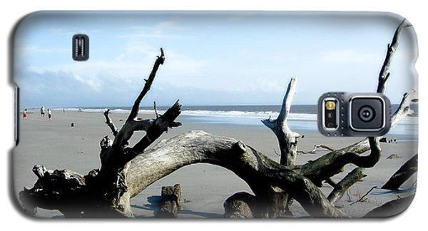 Galaxy S5 Case featuring the photograph Hunting Island - 2 by Ellen Tully