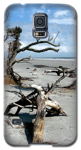 Galaxy S5 Case featuring the photograph Hunting Island - 3 by Ellen Tully