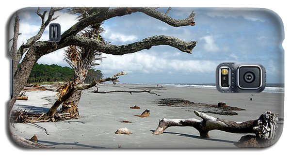 Galaxy S5 Case featuring the photograph Hunting Island - 7 by Ellen Tully