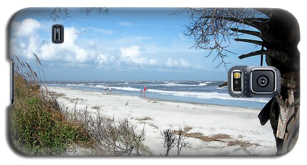 Galaxy S5 Case featuring the photograph Hunting Island -8 by Ellen Tully