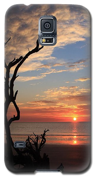 Hunting Island Sunrise Galaxy S5 Case by Mountains to the Sea Photo