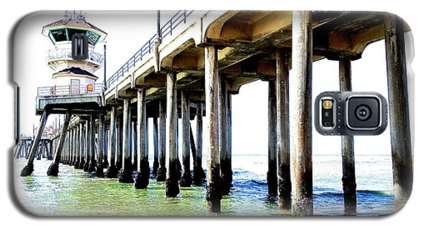 Huntington Beach Pier Galaxy S5 Case by Margie Amberge
