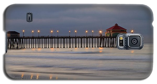 Huntington Beach Pier Morning Lights Galaxy S5 Case by Duncan Selby