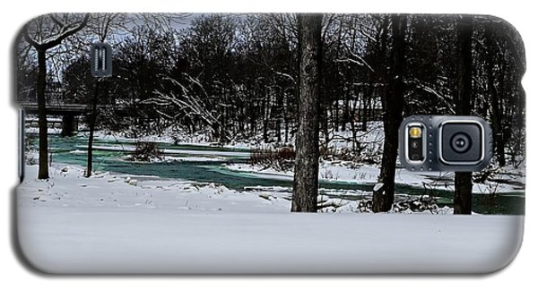 Huron River In Monroeville Galaxy S5 Case