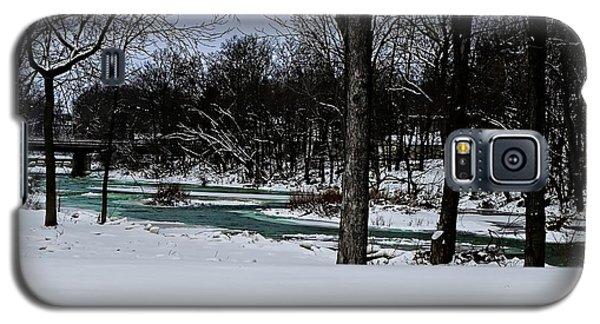 Huron River In Monroeville Galaxy S5 Case