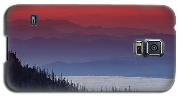 Hurricane Ridge Sunset Galaxy S5 Case