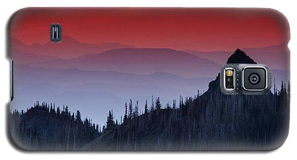 Hurricane Ridge Sunset Vista Galaxy S5 Case