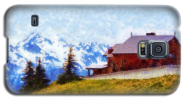 Hurricane Ridge Visitor Center Galaxy S5 Case