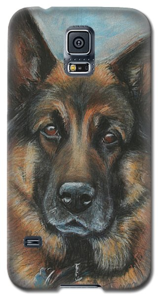 Hussler-german Shepherd Dog Galaxy S5 Case