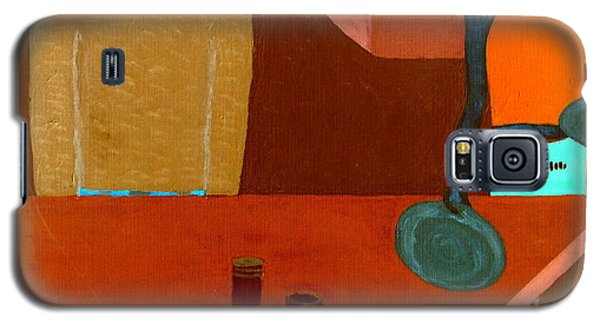 Galaxy S5 Case featuring the painting Hussongs Cantina Baja by Bill OConnor