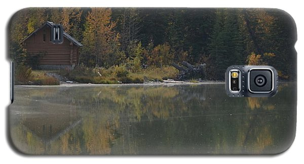 Hut By The Lake Galaxy S5 Case