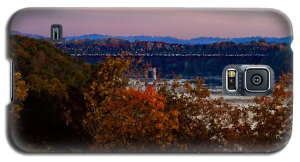 Hwy 90 Bridge Galaxy S5 Case by Ken Frischkorn