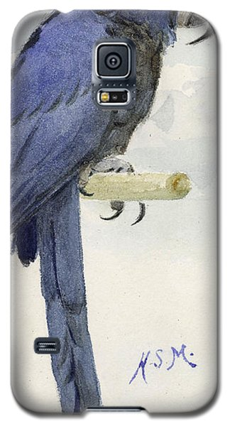 Audubon Galaxy S5 Case - Hyacinth Macaw by Henry Stacey Marks