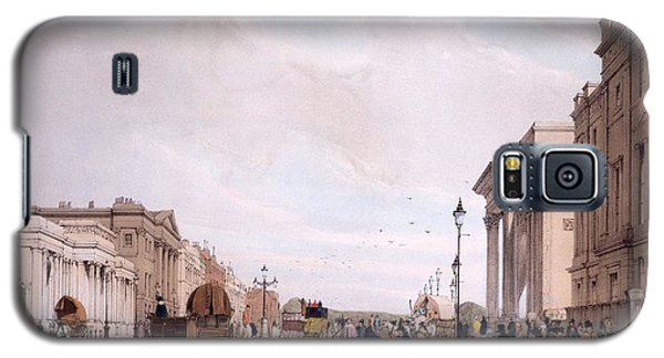 Hyde Park Corner, Looking Galaxy S5 Case by Thomas Shotter Boys