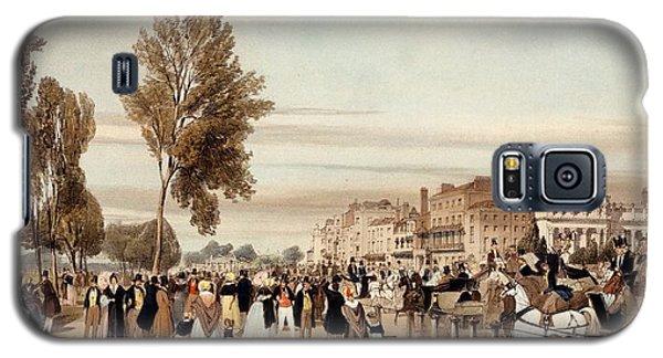Hyde Park, Towards The Grosvenor Gate Galaxy S5 Case by Thomas Shotter Boys