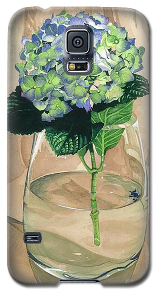 Hydrangea Blossom Galaxy S5 Case by Barbara Jewell
