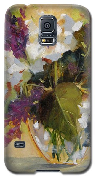 Galaxy S5 Case featuring the painting Freshly Cut by Chris Brandley