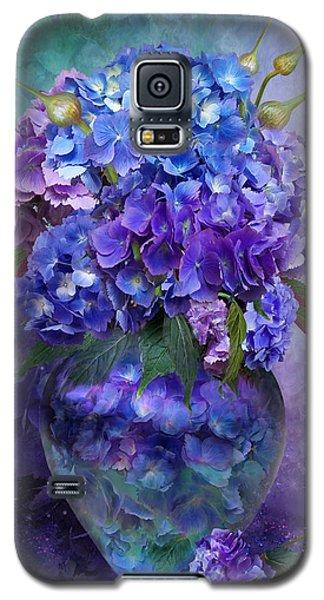 Hydrangeas In Hydrangea Vase Galaxy S5 Case