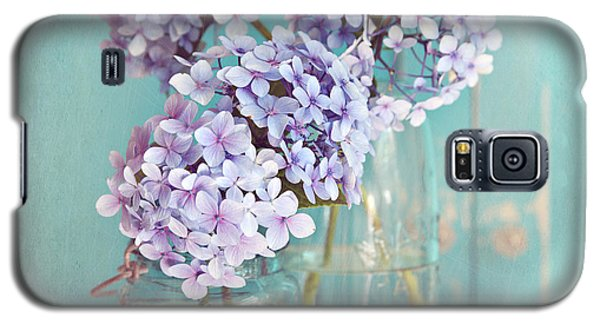 Hydrangeas In Mason Jars Galaxy S5 Case