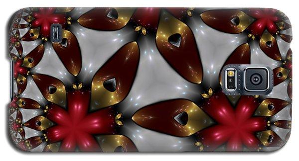 Hyper Jewel I - Hyperbolic Disk Galaxy S5 Case
