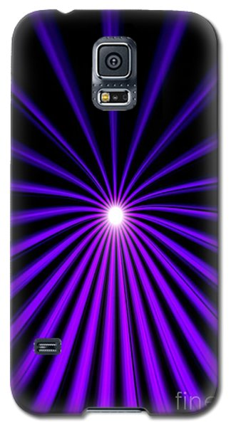 Hyperspace Violet Portrait Galaxy S5 Case