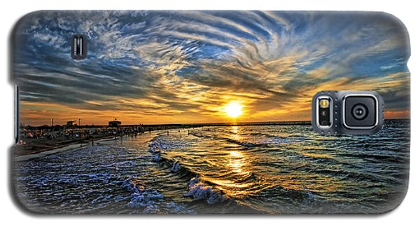 Hypnotic Sunset At Israel Galaxy S5 Case