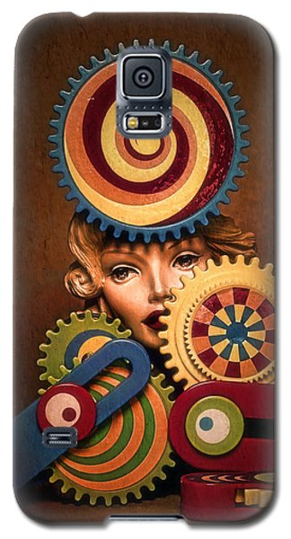 Hypnotic Woman 1 Galaxy S5 Case