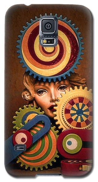 Hypnotic Woman 1 Galaxy S5 Case by Jeff  Gettis