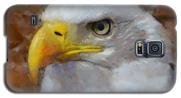 Galaxy S5 Case featuring the painting I Am An Eagle by Wayne Pascall