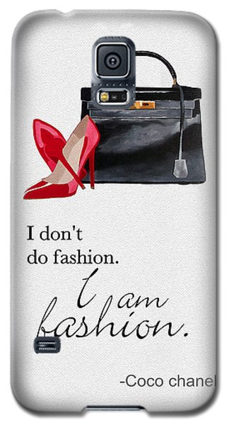 I Am Fashion Galaxy S5 Case by Rebecca Jenkins