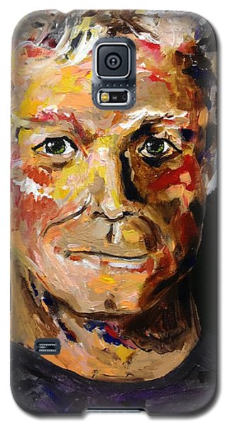 Galaxy S5 Case featuring the painting I Am Me Am I  by Alan Lakin
