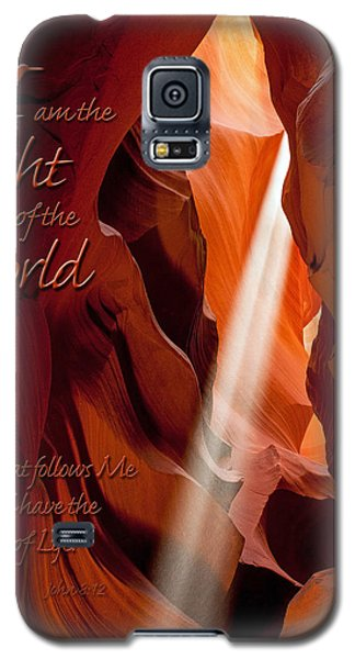 I Am The Light Of The World Galaxy S5 Case