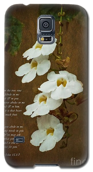 I Am The Vine Galaxy S5 Case by MaryJane Armstrong