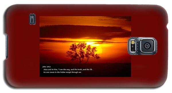 I Am The Way John 14-6 Galaxy S5 Case by Jeff Swan
