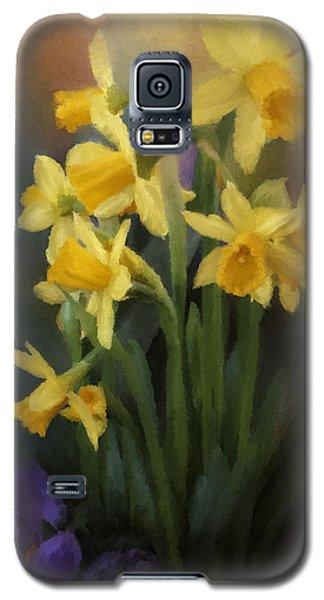 I Believe - Flower Art Galaxy S5 Case