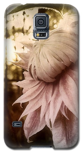 Galaxy S5 Case featuring the photograph I Bloom Only For You She Whispered by Susan Maxwell Schmidt