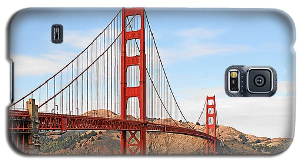 I Guard The California Shore - Golden Gate Bridge San Francisco Ca Galaxy S5 Case by Christine Till
