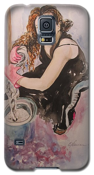 I Hate Women's Work Galaxy S5 Case by Esther Newman-Cohen