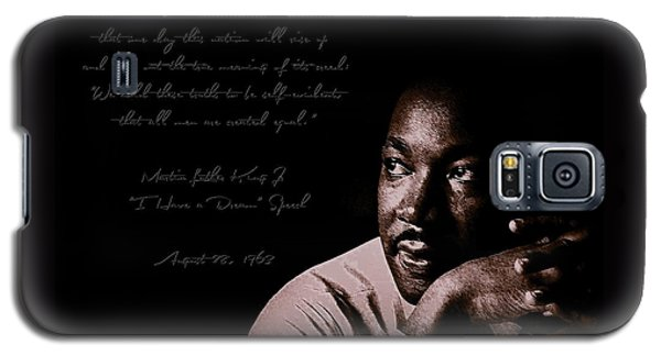 Galaxy S5 Case featuring the photograph I Have A Dream by Maciek Froncisz
