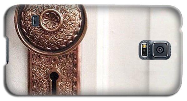 Decorative Galaxy S5 Case - I Just Love These Old Door Knobs! by Kim Schumacher