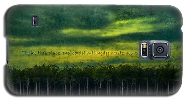 I Like This Place Galaxy S5 Case by Robin Dickinson